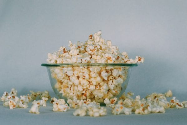 Health Late Night Snack - Popcorn